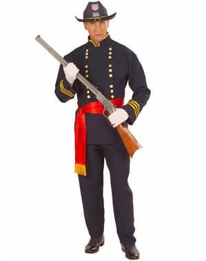 Costum de soldat confederal