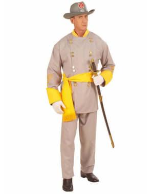 General for Hæren til de Konfederate Stater Kostyme
