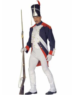 Fato de soldado de Napoleão para homem