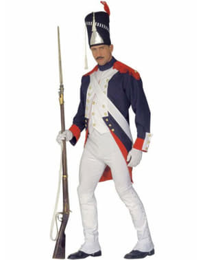 Napoleon soldat herrdräkt