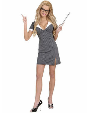 Dámský kostým sexy učitelka