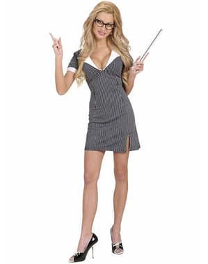 Sexy Lærer Kostyme for Dame