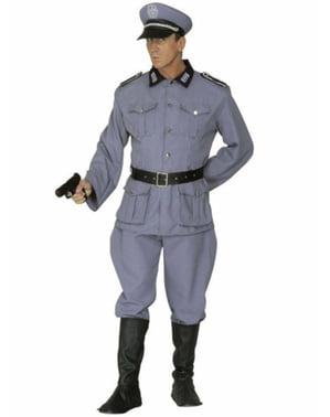 男のドイツの兵士の衣装