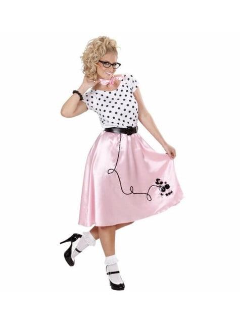 Disfraz de chica de los 50