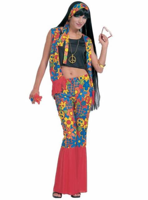 Fato de hippie festeira para mulher