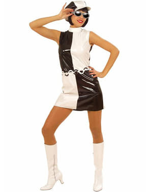 Mädchen Kostüm Sechziger