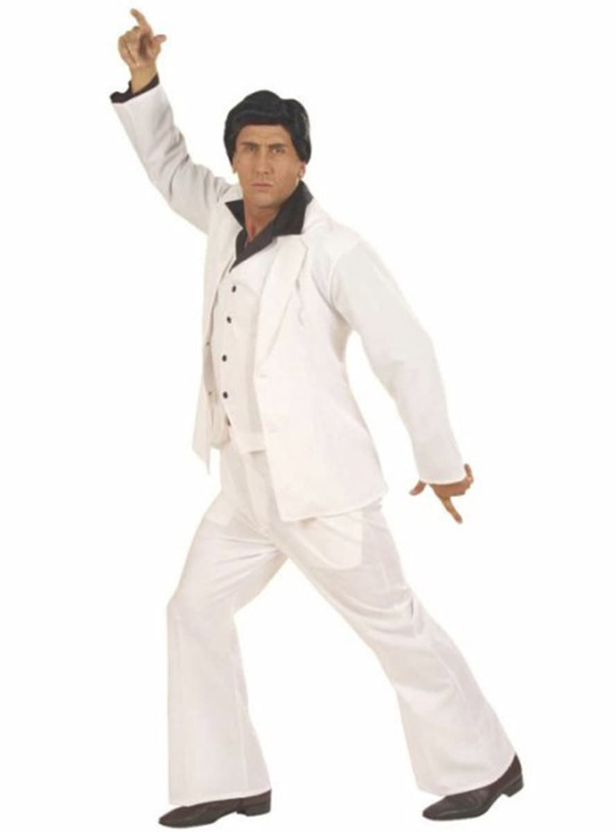 saturday night fever costume for a man  express delivery