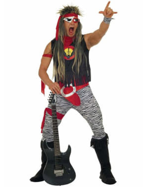 Fato de Rock and Roll Star para homem