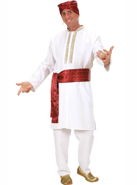 Κοστούμι αστέρι Bollywood για έναν άνδρα