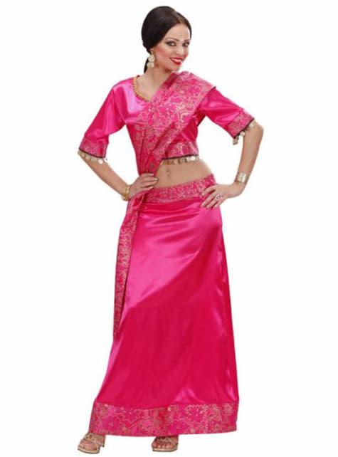 Fato de estrela de Bollywood para mulher