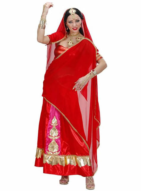 Bollywood diva costume for a woman