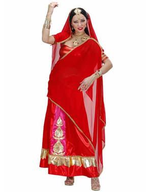 Fato de diva de Bollywood para mulher