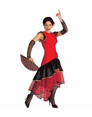 Lola Flamenco dancer costume for a woman