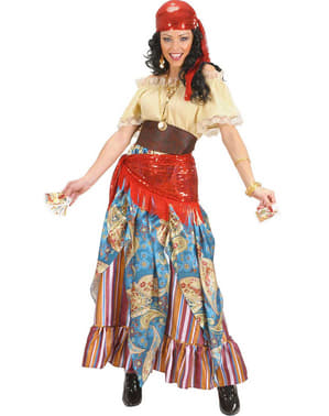 Fortune teller costume for a woman