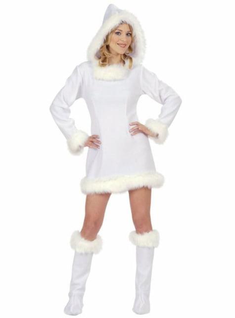 Sexy eskimoachtig Kostuum voor vrouw