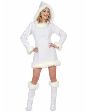 Costum de eschimos sexy pentru femeie