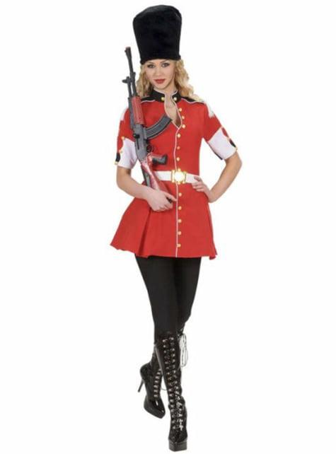 Disfraz de Guardia Real para mujer