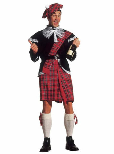 Fato de escocês para homem