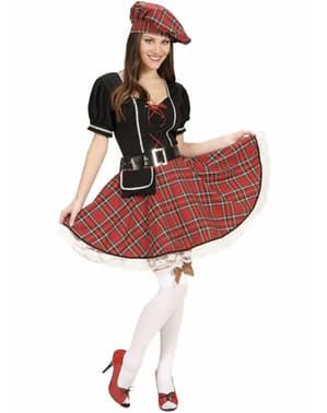 Fato de escocesa sexy para mulher