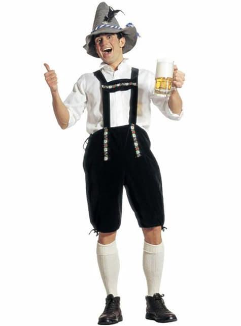 Disfraz de bávaro tradicional para hombre