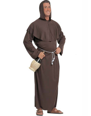 Monk costume for a man
