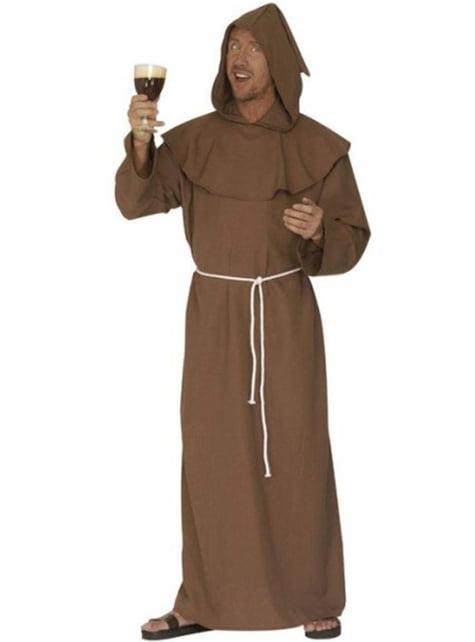 Disfraz de monje capuchino para hombre