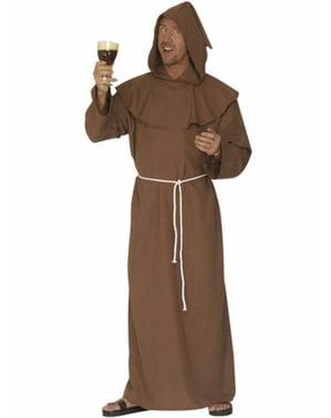 Costum de calugăr cappuccino pentru bărbat