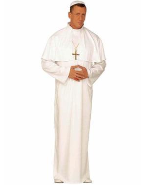 Hellig Pave Kostyme for Mann