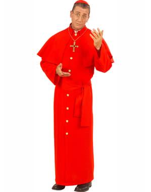 Kardinalkostume til mænd