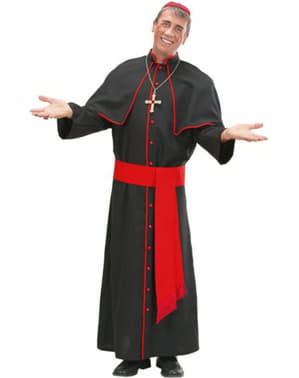 Ecclesiastical cardinal costume for a man