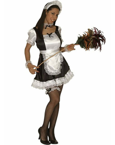 Disfraz de sirvienta francesa sexy para mujer