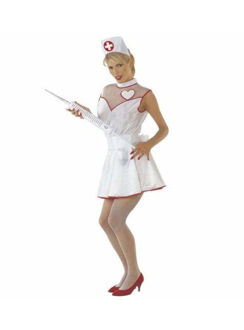 Déguisement infirmière de l'amour femme