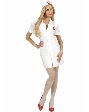 Föreslående sjuksköterskadräkt till kvinna