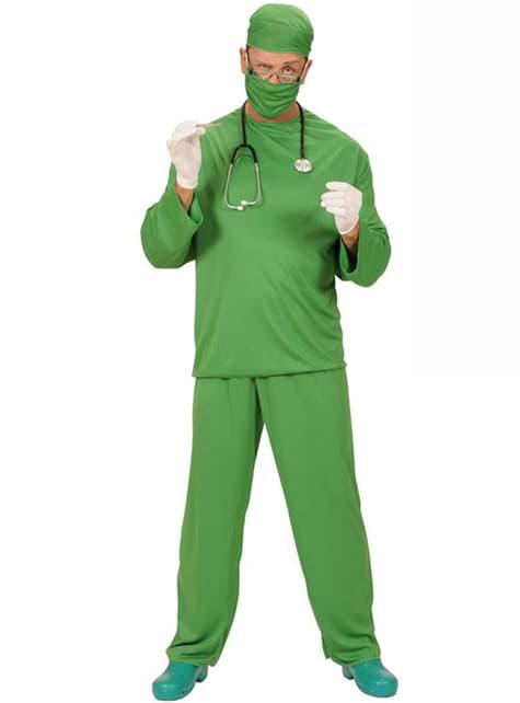 Disfraz de cirujano adulto