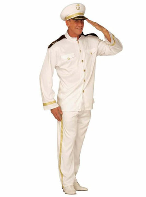 Kostuum kapitein volle zee