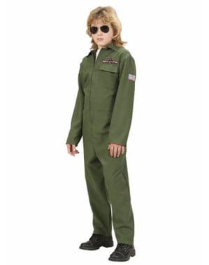 Costume da pilota da combattimento per bambino
