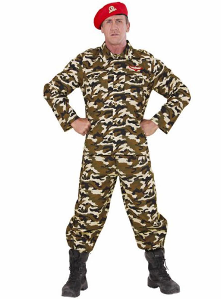 soldat kost m f r herren tarnkleidung funidelia. Black Bedroom Furniture Sets. Home Design Ideas
