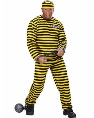 Pánský kostým vězeň číslo 3248