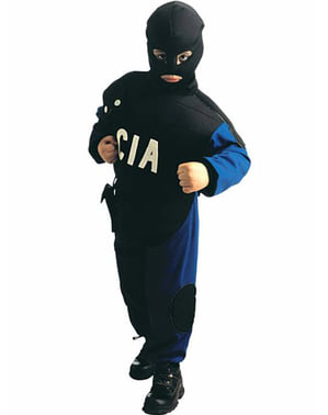Fato de agente da CIA para menino