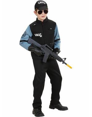 Costum de agent S.W.A.T. Pentru băiat