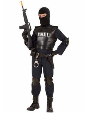 SWAT maskeraddräkt för barn