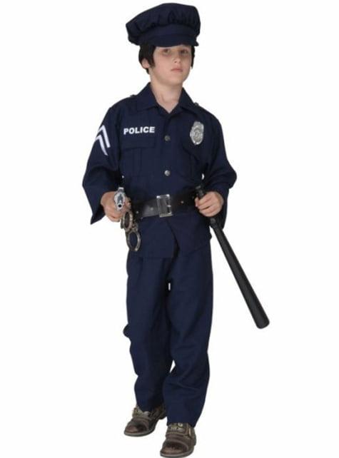 Disfraz de policía urbano para niño