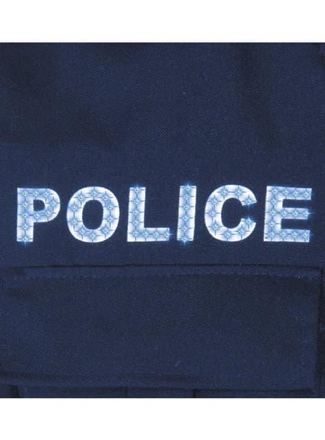 Disfraz de policía urbano para niño - infantil
