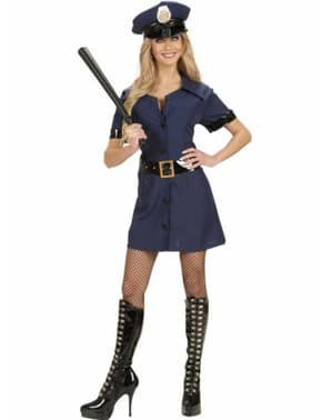Polizistin Kostüm für Damen verführerisch