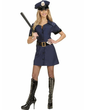 Seductress police costume for a woman