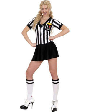 Referee costume for a woman