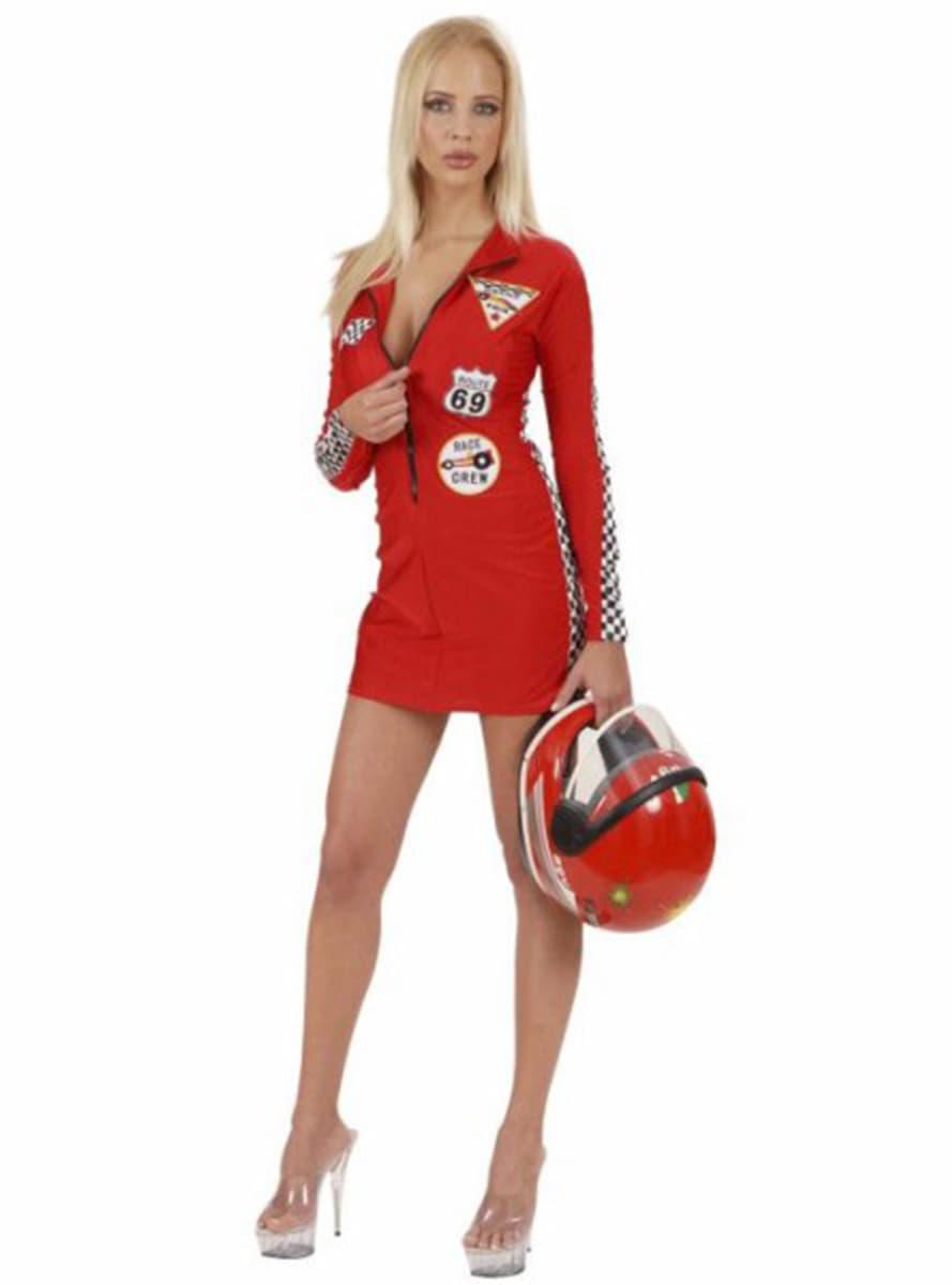 Disfraz De Piloto Sexy Grand Prix Comprar Online En