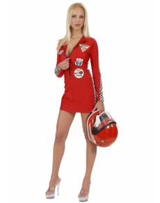 Disfraz de piloto sexy grand prix
