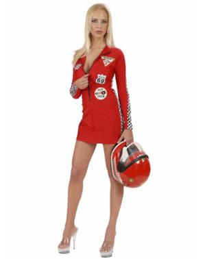Rennfahrerin Kostüm für Damen sexy Grand Prix