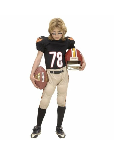 American Football player costume for boys